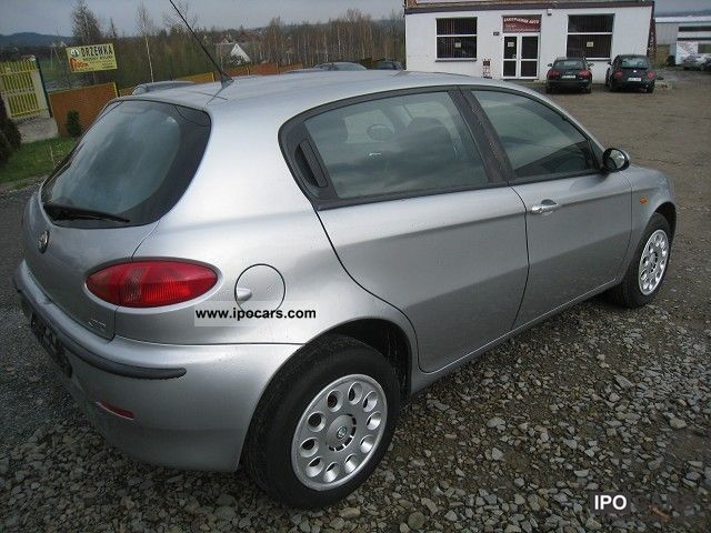 2003 alfa romeo alfa 147 1 9 jtd 115 km op acony car photo and specs. Black Bedroom Furniture Sets. Home Design Ideas