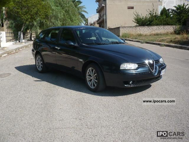 2003 alfa romeo 156 1 9 jtd progression car photo and specs. Black Bedroom Furniture Sets. Home Design Ideas