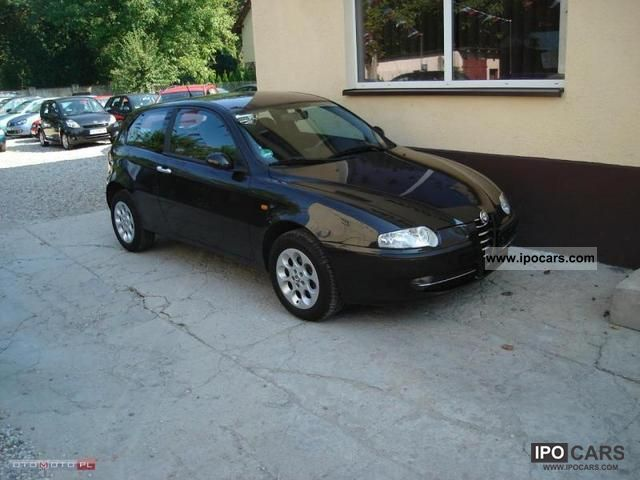 2005 alfa romeo 147 1 6 120 km air serwis car photo and specs. Black Bedroom Furniture Sets. Home Design Ideas