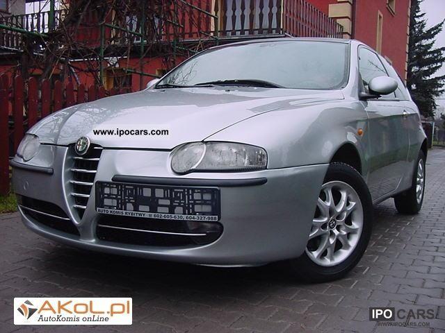 2002 Alfa Romeo  OPŁACONY-147-AIR-SKORA JTD Limousine Used vehicle photo