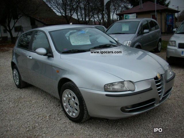 Alfa Romeo  147 2003 Liquefied Petroleum Gas Cars (LPG, GPL, propane) photo