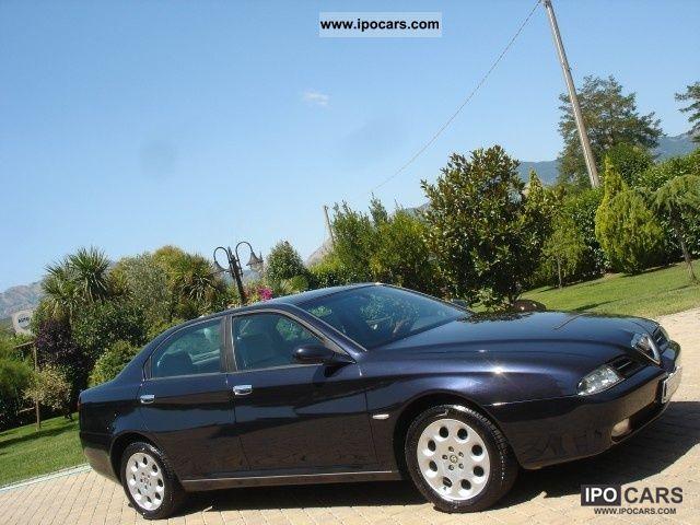 2001 Alfa Romeo  166 2.4 JTD ** NAVI - Pelle - PHONE. ETC ** Limousine Used vehicle photo