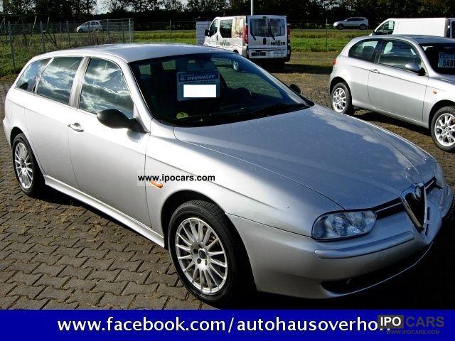 2001 alfa romeo 156 sportwagon 2 4 jtd car photo and specs. Black Bedroom Furniture Sets. Home Design Ideas