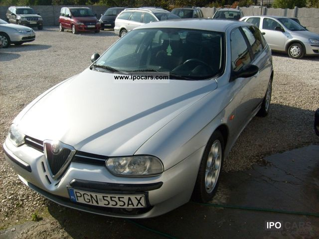 2002 Alfa Romeo  156 air-aluminum 2.4 JTD Estate Car Used vehicle photo