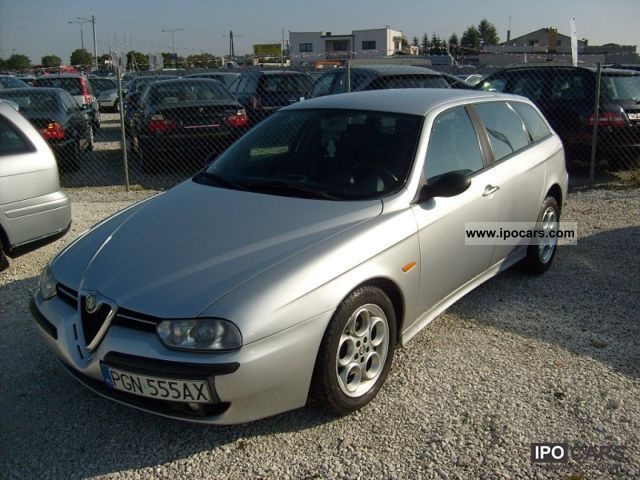 2002 alfa romeo 156 air aluminum 2 4 jtd car photo and specs. Black Bedroom Furniture Sets. Home Design Ideas