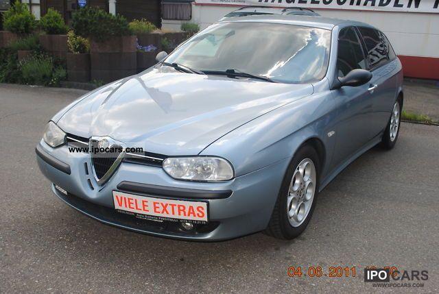 2002 Alfa Romeo  Alfa 156 Sportwagon 2.0Twin Spark Edizione leather Estate Car Used vehicle photo