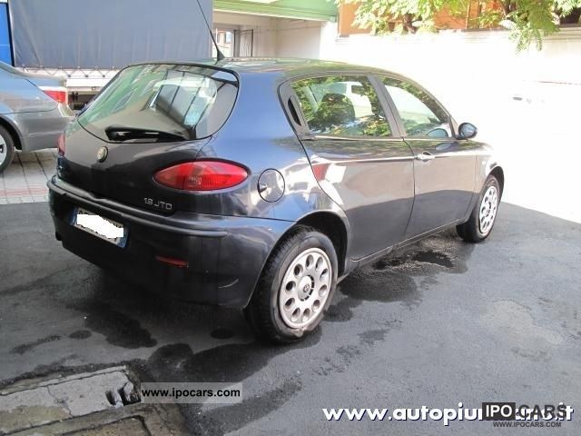 2002 alfa romeo 147 1 9 jtd 115 cv cat 5p progression car photo and specs. Black Bedroom Furniture Sets. Home Design Ideas