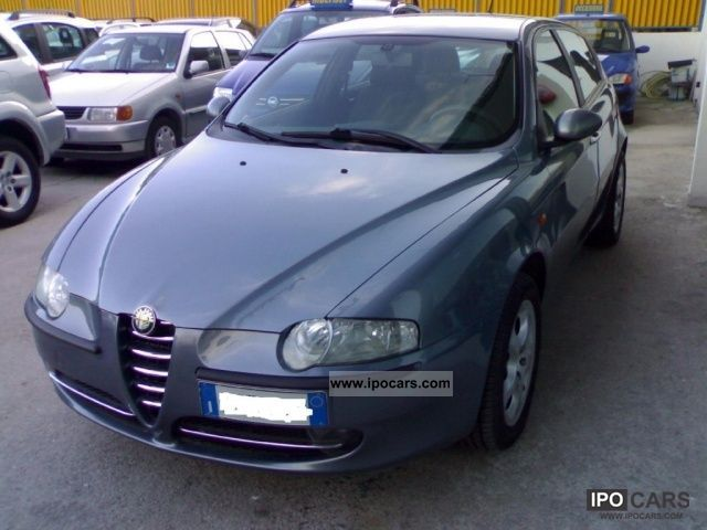 2004 alfa romeo 147 1 9 jtd 115 cv cat 5p progression car photo and specs. Black Bedroom Furniture Sets. Home Design Ideas