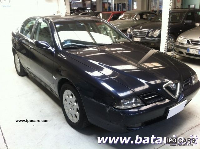 2003 Alfa Romeo  166 2.4 JTD Progression Navi Telephone Limousine Used vehicle photo