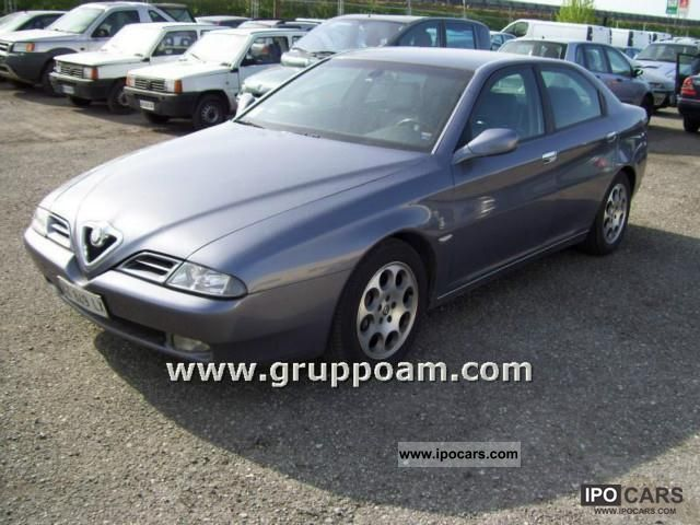 Alfa Romeo  166 2.0 V6 Turbo GPL 1998 Liquefied Petroleum Gas Cars (LPG, GPL, propane) photo