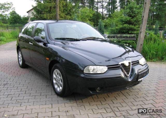 2002 alfa romeo 156 1 8 ts pi kna car photo and specs. Black Bedroom Furniture Sets. Home Design Ideas