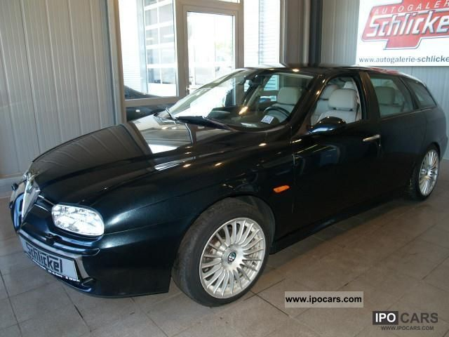 2002 Alfa Romeo  156 Sport Wagon 2.0 JTS Selespeed Distinctive Estate Car Used vehicle 			(business photo