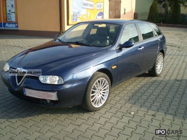 2002 Alfa Romeo  156 1.9 JTD 16V 140 km CLIMATE TRONIC Estate Car Used vehicle photo