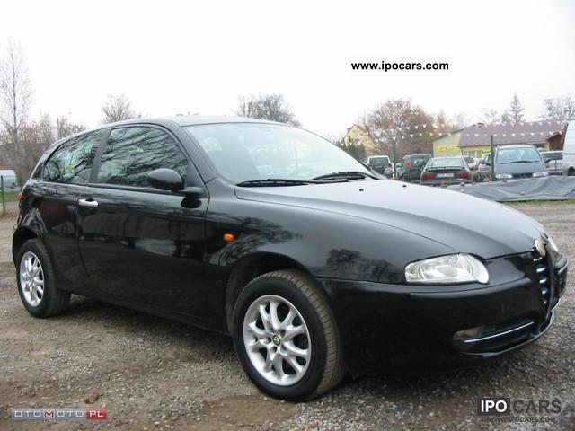 2004 Alfa Romeo  Alfa 147 JTD * Czarna * Climate * Aluminum * CD Other Used vehicle photo