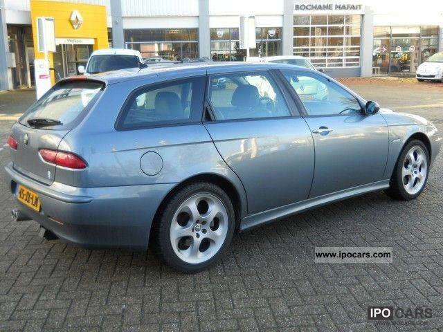 2002 alfa romeo alfa 156 2 5 v6 24v q system4 automaat. Black Bedroom Furniture Sets. Home Design Ideas