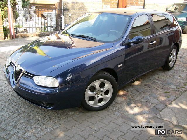 2002 Alfa Romeo  156 2.0 T.S. Selespeed Estate Car Used vehicle photo