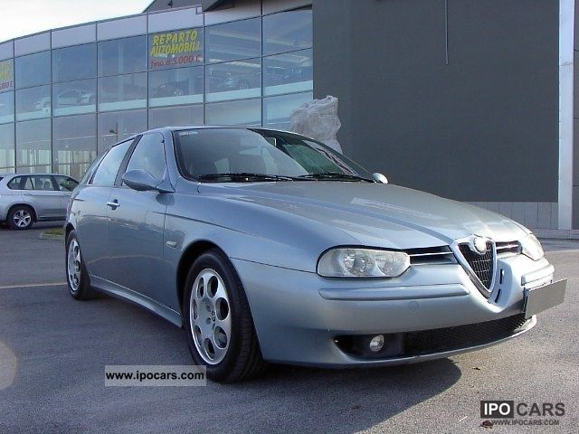 2001 Alfa Romeo  156 1.9 JTD Distinctive cat SW Estate Car Used vehicle photo