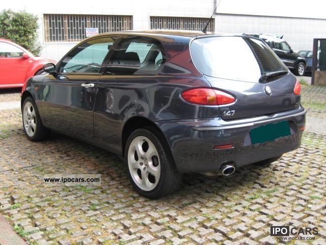 2003 alfa romeo alfa 147 car photo and specs. Black Bedroom Furniture Sets. Home Design Ideas