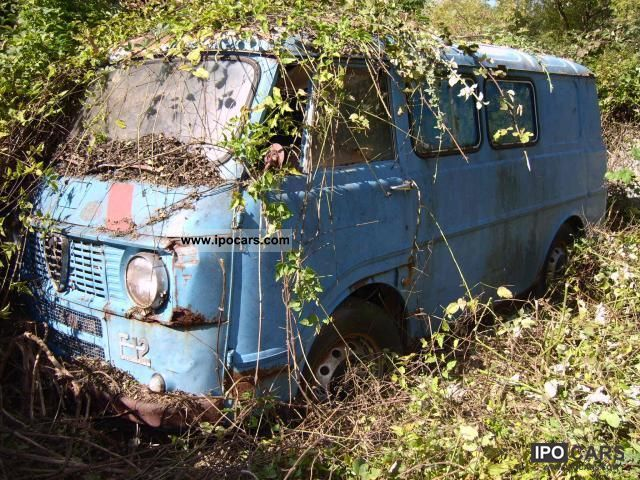 1977 Alfa Romeo  F12 '77 1.8 Van / Minibus Used vehicle photo