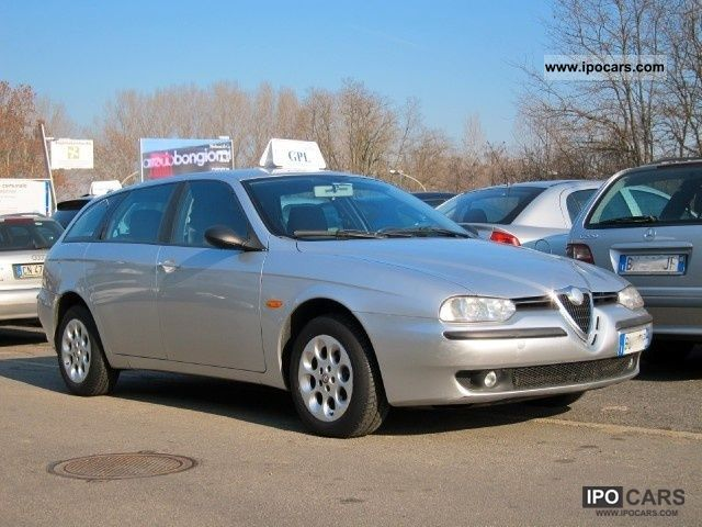 2001 Alfa Romeo  156 1.8i 16v SW Distinctive GPL Tues ultimate genera Estate Car Used vehicle photo