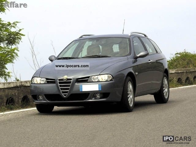 2003 alfa romeo 156 1 9 jtd sw impression car photo and specs. Black Bedroom Furniture Sets. Home Design Ideas
