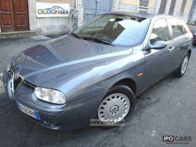 2003 Alfa Romeo  156 1.9 JTD 115CV SW progression Estate Car Used vehicle photo