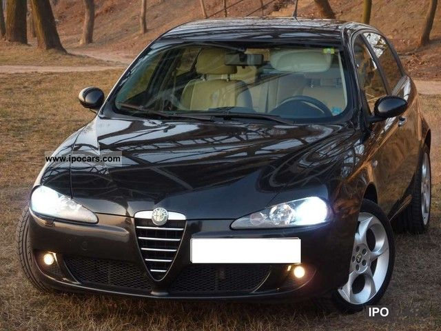 2006 alfa romeo alfa 147 1 6 twin spark eco eleganza gpl car photo and specs. Black Bedroom Furniture Sets. Home Design Ideas