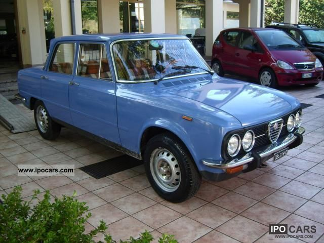 Alfa Romeo  Giulia Nuova Super 1300 '76 1976 Vintage, Classic and Old Cars photo