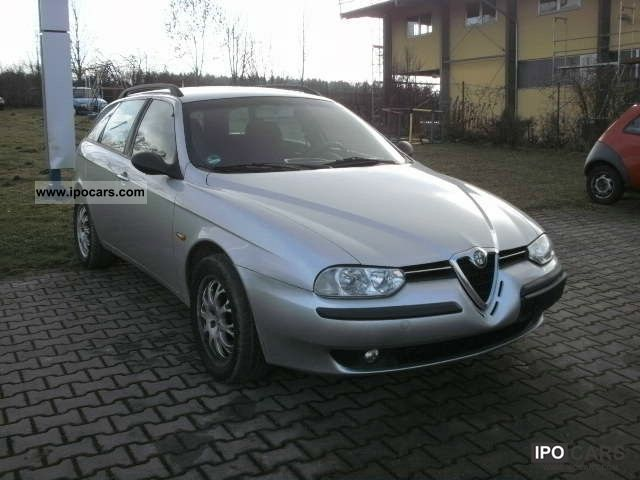 2000 alfa romeo 156 sw 1 6 t spark car photo and specs. Black Bedroom Furniture Sets. Home Design Ideas