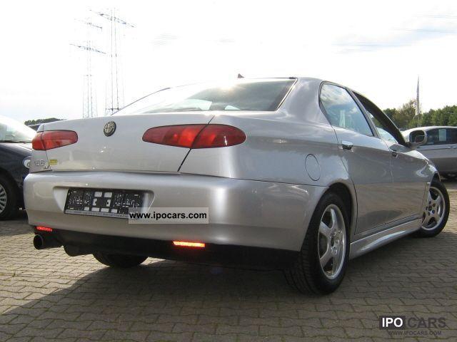 2002 Alfa Romeo 166 2.4 JTD Distinctive Limousine Used vehicle ...