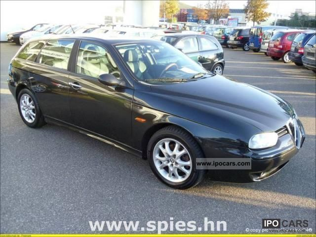 2003 Alfa Romeo 156 Sportwagon 1.9 JTD 16V Distinctive leather etc ...