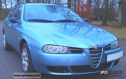 2004 Alfa Romeo  156 SW 1.8 16V TS Impression! HU NEW! 1.Hand! ... Estate Car Used vehicle photo