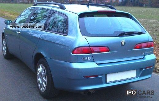 2004 alfa romeo 156 sw 1 8 16v ts impression hu new 1 hand car photo and specs. Black Bedroom Furniture Sets. Home Design Ideas