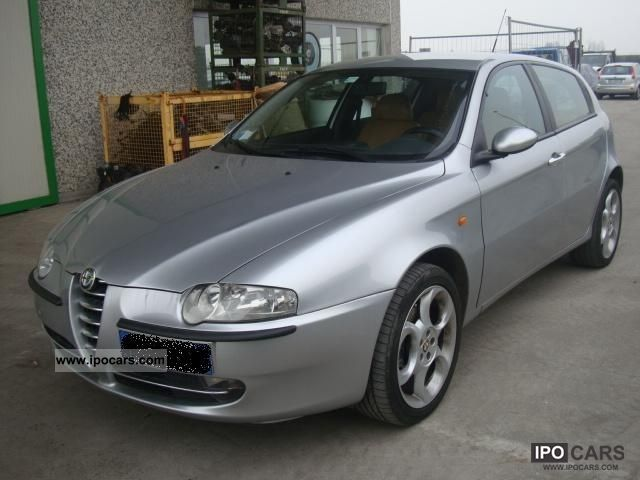 Alfa Romeo  147 2.0i 16V Selespeed - GPL - 2004 Liquefied Petroleum Gas Cars (LPG, GPL, propane) photo