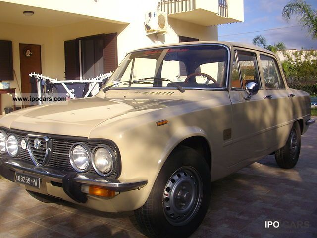 Alfa Romeo  Giulia 1974 Vintage, Classic and Old Cars photo