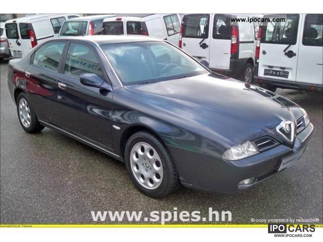 2003 Alfa Romeo  166 2.0 Twin Spark progression Limousine Used vehicle photo