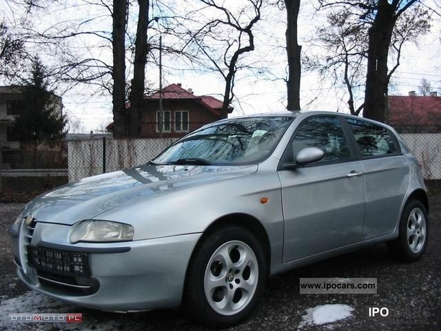 2004 alfa romeo alfa 147 jtd 16v 140 km climate aluminum c car photo and specs