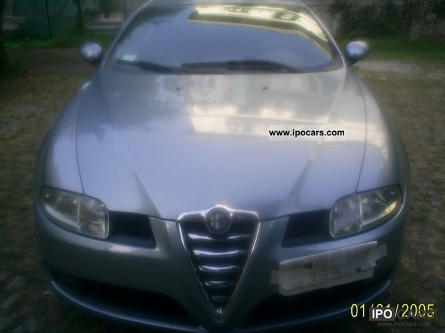 2004 alfa romeo alga gt 1 9 jtd 150 cv car photo and specs. Black Bedroom Furniture Sets. Home Design Ideas