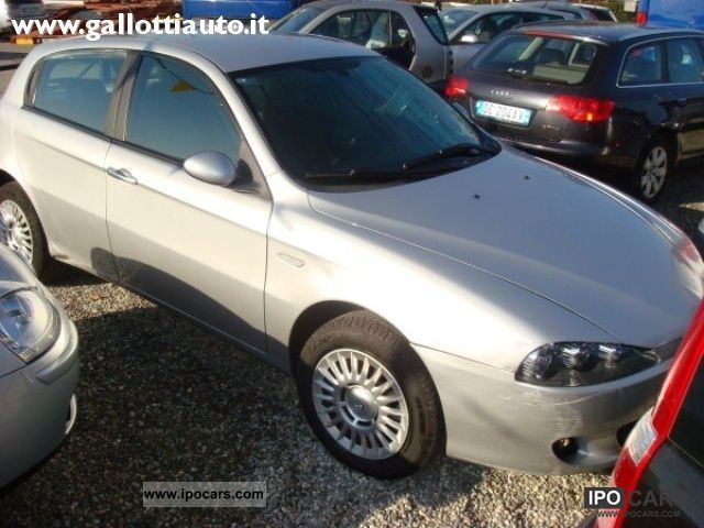 2005 alfa romeo 147 1 9 jtd 115 cv cat 5p progression car photo and specs. Black Bedroom Furniture Sets. Home Design Ideas