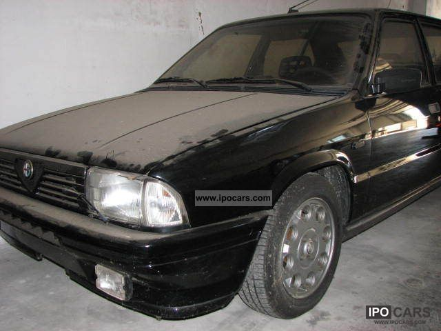 1984 alfa romeo alfa 33 4x4 car photo and specs. Black Bedroom Furniture Sets. Home Design Ideas