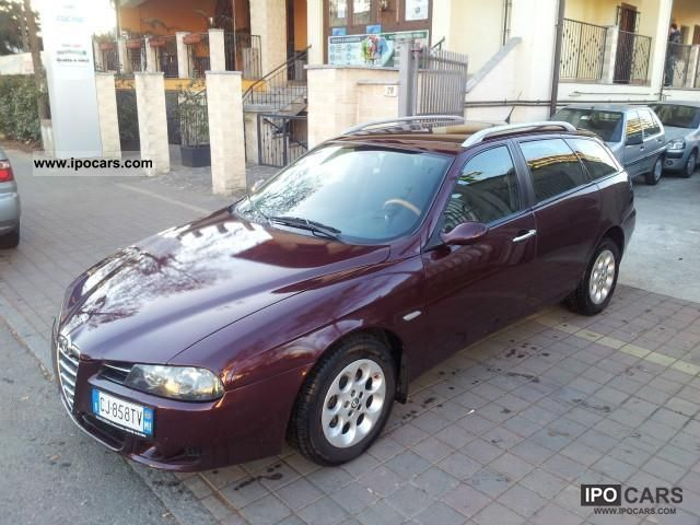 2003 Alfa Romeo 156 Sportwagon 1.9 JTD 16V Distinctive Estate Car Used ...