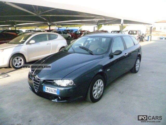 2004 alfa romeo 156 1 9 jtd 115 cv progression sw car photo and specs. Black Bedroom Furniture Sets. Home Design Ideas