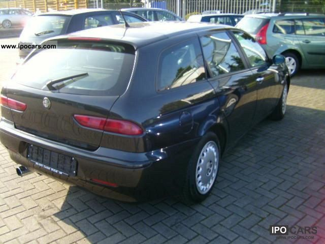 2003 alfa romeo 156 sw 1 9 jtd car photo and specs. Black Bedroom Furniture Sets. Home Design Ideas