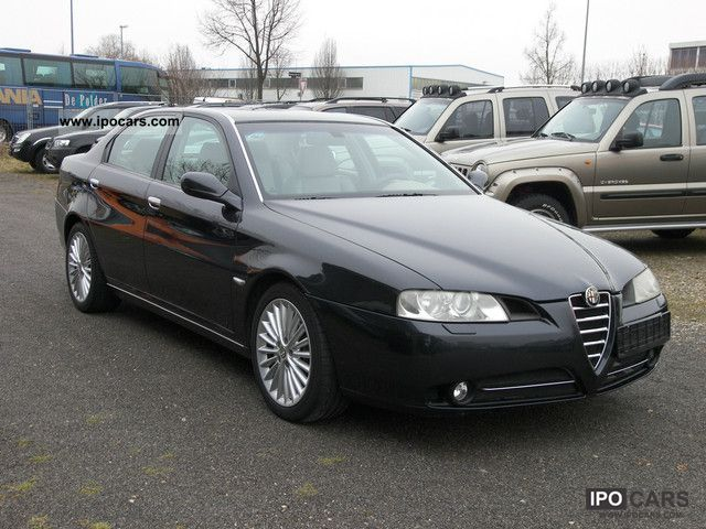 2004 Alfa Romeo 166 2 4 Jtd 20v Full Equipment Car Photo
