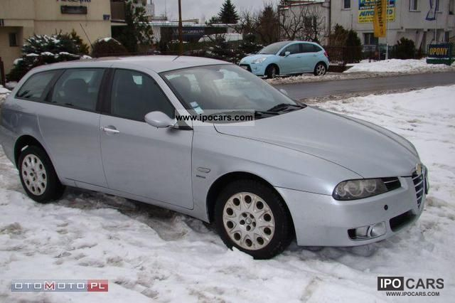 2004 Alfa Romeo  156 1.9 JTD 140 km LIFTING Bogata Estate Car Used vehicle photo