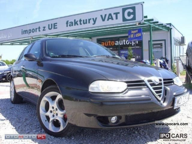 2002 Alfa Romeo  156 1,9 JTD 116km IDEAL Pelny SERW Estate Car Used vehicle photo