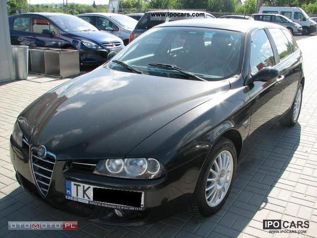 2005 alfa romeo 156 1 9 jtd m car photo and specs. Black Bedroom Furniture Sets. Home Design Ideas