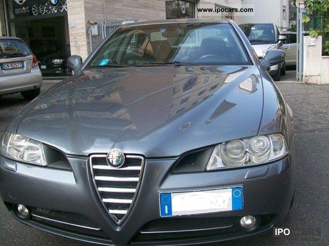2004 Alfa Romeo 166 24 Jtd M Jet Distinctive Car Photo And Specs