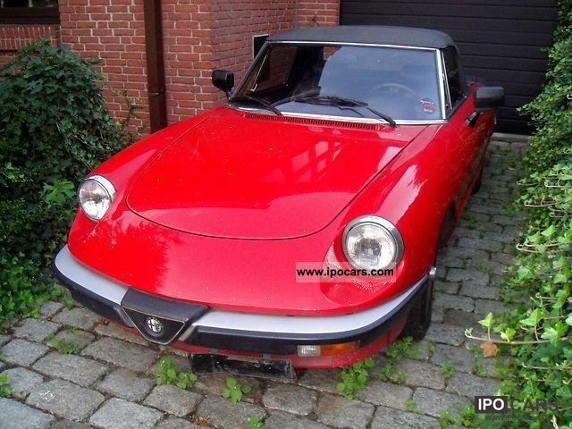 1987 Alfa Romeo  Spider 1.6 Cabrio / roadster Used vehicle photo