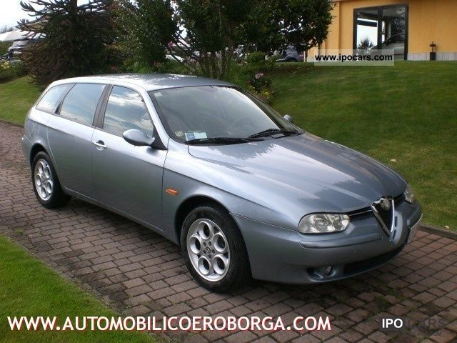 2002 Alfa Romeo  156 1.9 JTD Distinctive cat SW Estate Car Used vehicle photo